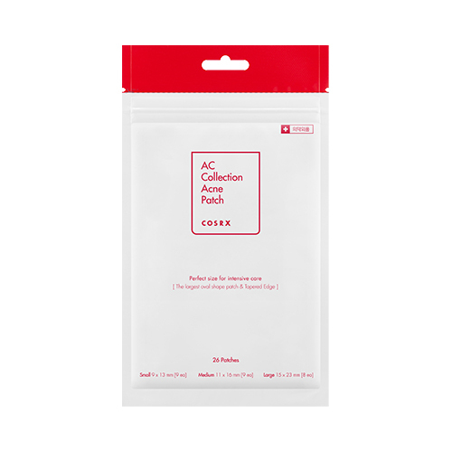 COSRX AC Collection Acne Patch 1pack (26pcs) Acne Treatment Face Mask Pimple Scar Remover Facial Care Stealth Acne Patch 5