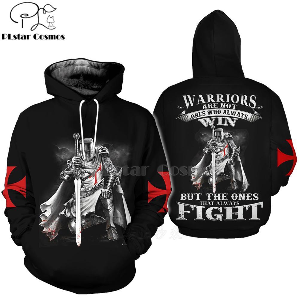 PLstar Cosmos All Over Print Knights Templar 3d hoodies/shirt/Sweatshirt Winter autumn funny Harajuku Long sleeve streetwear-4