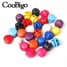 Shoelace Stopper Buckles-Bag Paracord Lanyard-Parts Cord-Lock Toggle-Clip Clamp 50pcs