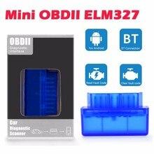 Android için ELM327 benzinli araba teşhis aracı OBDII tarayıcı otomatik kod okuyucu cep telefonu Bluetooth OBD2 eobd elm 327 tarama v1.5
