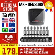 Autel escáner de presión de neumáticos mx sensor, 315MHz, 433MHz, sistema de monitoreo de Sensor TPMS, herramienta de escaneo para 98% vehículos PK OE