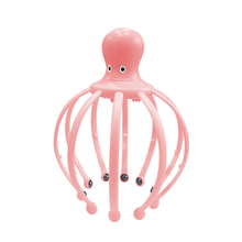 Head Massage Claw Vibration Head Grasping Artifact Octopus Massage Claw Ball Massager Electric Scalp Massage Comb цена 2017