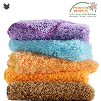 Ściereczka do czyszczenia marki Super woda chłonna szmata puszyste ręczniki kuchenne Duster ścierka podkładka do czyszczenia pluszowa ścierka do naczyń tanie i dobre opinie BEAR FAMILY CN (pochodzenie) Ekologiczne Na stanie NAKŁADKA DO MYCIA PODŁOGI Czyszczenie Mikrofibra