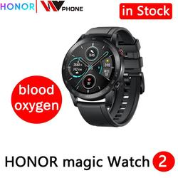Honor Magic Horloge 2 Magic 2 Smart Horloge Bloed Zuurstof Tracker Spo2 Telefoontje Hartslag Tracker Voor Android Ios