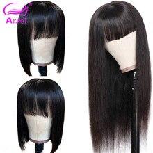 Peruca reta frontal, para mulheres, peruca natural brasileira 360 hd renda completa reta 13x6 perucas de cabelo humano frontal