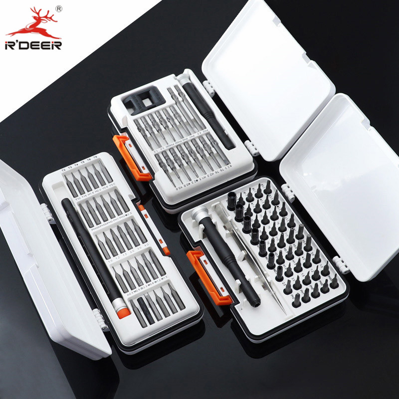 18pcs/31pcs/47pcs Precision Screwdriver Set CR-V Mini Screwdriver For Phones/Computer/Electronics/Laptops