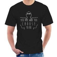 Gigante di ferro Siete Che Si Sceglie Uomo di Essere T-shirt T-shirt Unisex Il LETTORE Gigante de Ferro PRONTO UN Filme Robot @ 058703