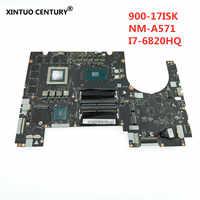 Placa base para portátil Lenovo Y900 Y900-17ISK BY711 NM-A571, CPU i7 6820 GPU GTX980M 8GB DDR4 100%