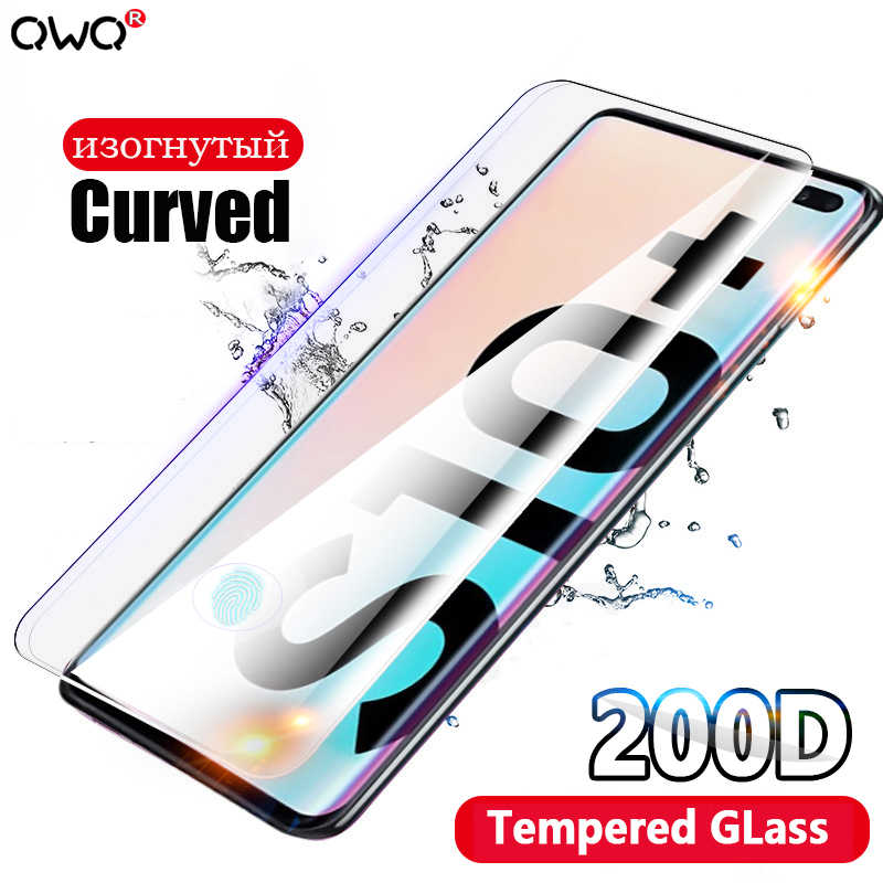 200D tempered glass for Samsung Galaxy A50 A20 A30 A70 S8 S9 S10 Plus screen protector for Samsung A80 A90 A7 2018 glass film