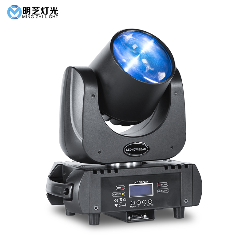 Mingzhi 60W Beam Led Moving Head Light Stage Lighting For Party Disco DJ Light Effect