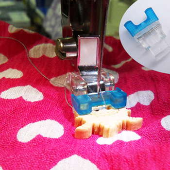 Brother Multifunctional domestic sewing machine presser foot button # 7305 / Sew-On Button Foot image