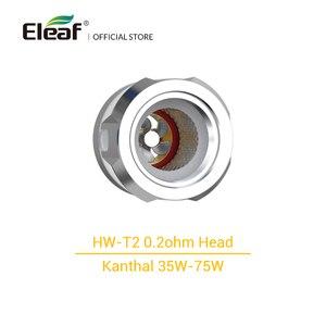 Image 3 - 3 قطعة/الوحدة الأصلي Eleaf HW T/HW T2 0.2ohm رئيس ل Eleaf iJust 3 برو عدة مع نظام التوربينات مبتكرة السجائر الإلكترونية