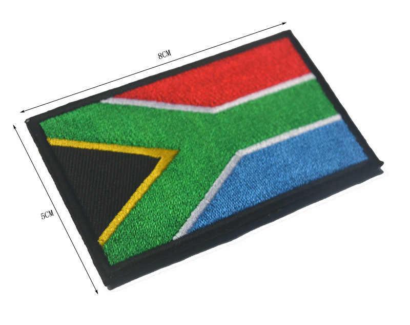 Güney afrika mısır Kenya kongo nijerya Angola fas tunus bayrağı nakış yama bayrakları rozetleri moral yamalar aplikler amblemi
