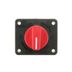 Автомобильный главный батарейный изолятор отсоединить роторный отключенный выключатель питания выключить ВКЛ./ВЫКЛ. 12В 300А батарейный раз...