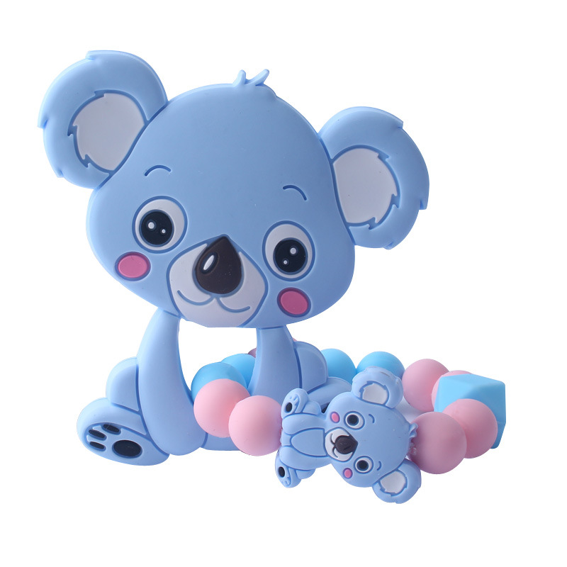 Silicone Baby Nursing Teether Bracelet BPA Free Baby Teething Beads Nurse Gift Food Grade Silicone Toy Product Baby Bracelet