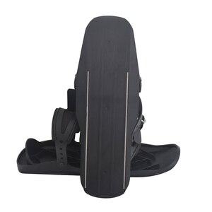 Image 2 - Лыжные коньки, зимняя Лыжная обувь, Мини Короткие скейтборды, обувь с регулируемыми застежками, легкое хранение, зимние мини портативные сноуборды