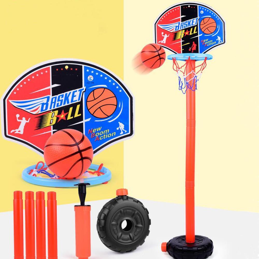 Баскетбольный набор колец, регулируемая портативная баскетбольная подставка, спортивная игра, игровой набор, игрушки для использования в помещении и на открытом воздухе, баскетбольные игровые наборы для детей Спортивные игры      АлиЭкспресс