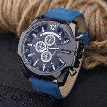 Watch Business Affairs Leisure Time Will Clock Dial Belt Quartz Watch
