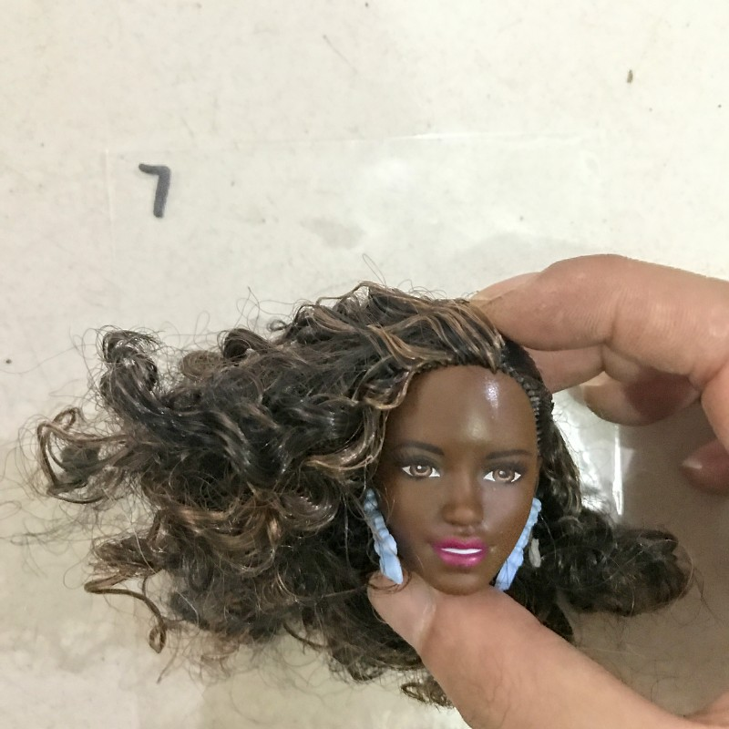 2019 New Style Original Doll Head / Doll Accessories For DIY Cosplay Barbie Doll Gift Toys For Girls