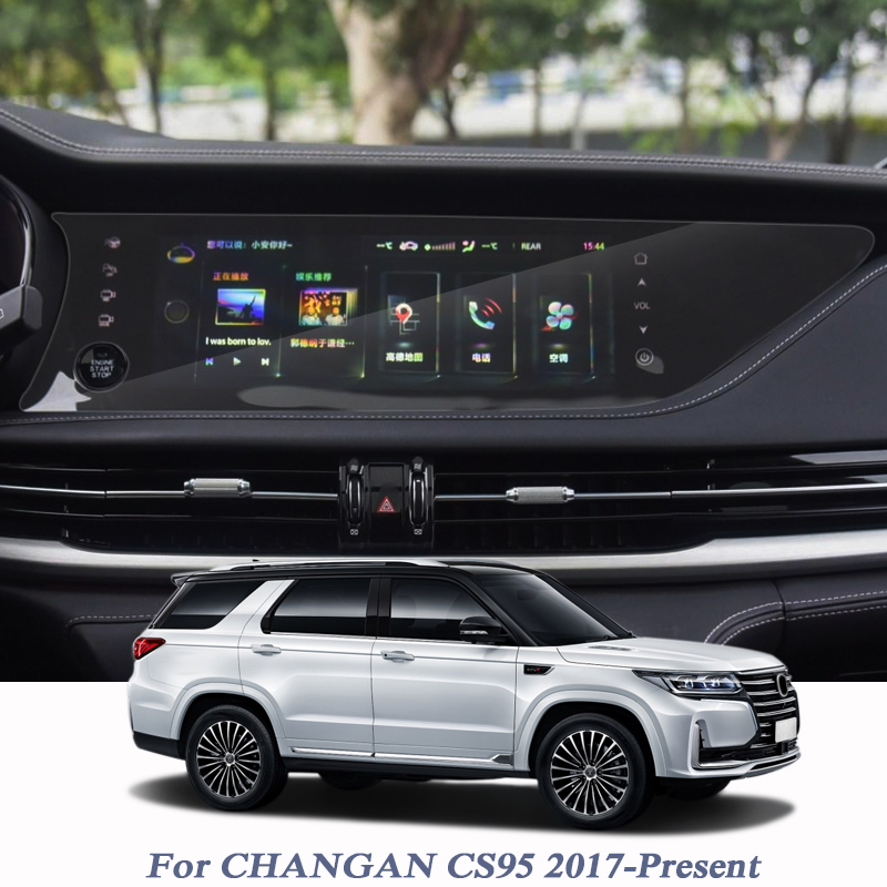 Für CHANGAN CS95 2017-Präsentieren GPS Navigation Bildschirm Glas Schutz Film GPS Display-schutzfolie Interne Zubehör