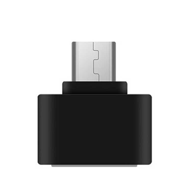 1 pc/2 pces micro usb para usb conversor mini otg cabo usb otg adaptador para tablet pc android