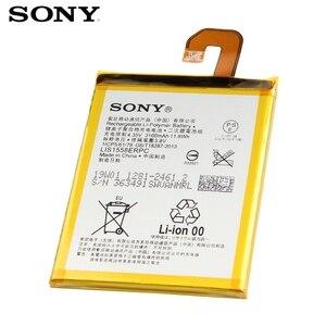 Image 5 - Originele Vervanging Sony Batterij Voor Sony Xperia Z3 L55T L55U D6653 D6633 D6603 LIS1558ERPC Echt Telefoon Batterij 3100Mah