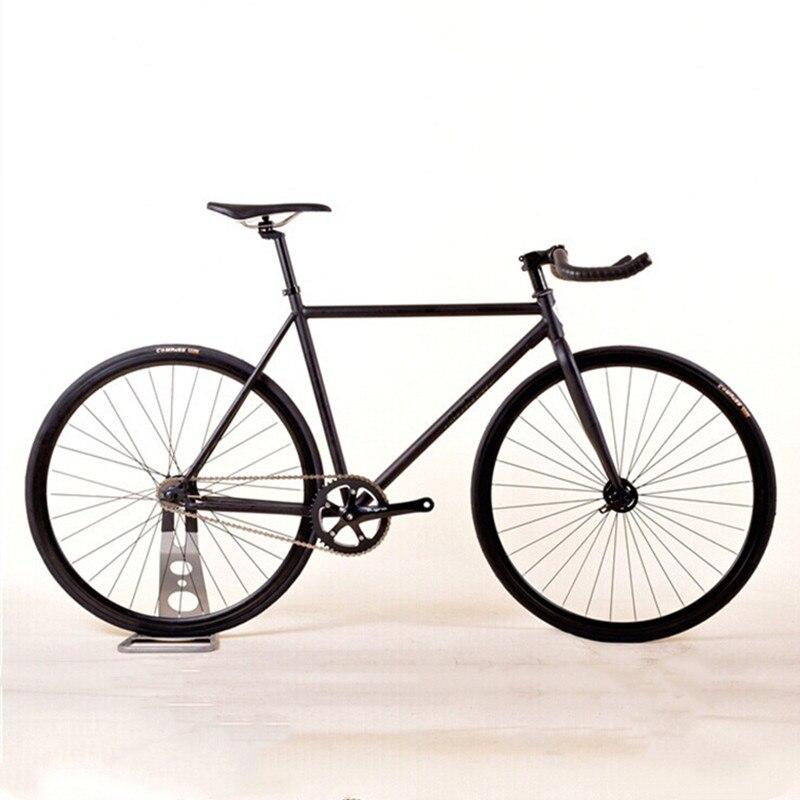 Колесо для велосипеда с фиксированной передачей 46 см 52 см Сталь рамка одноместная Скорость трек велосипед 700C 30/40 мм сплав колеса подшипник с...