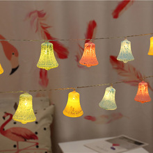 Crack Bell LED String Fairy Lights Christmas Lights Outdoor Lighting Garden String Lights Garland Tree Lamp Chain Chanukah Party