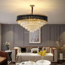 Итальянский светильник роскошная хрустальная лампа простой атмосферный