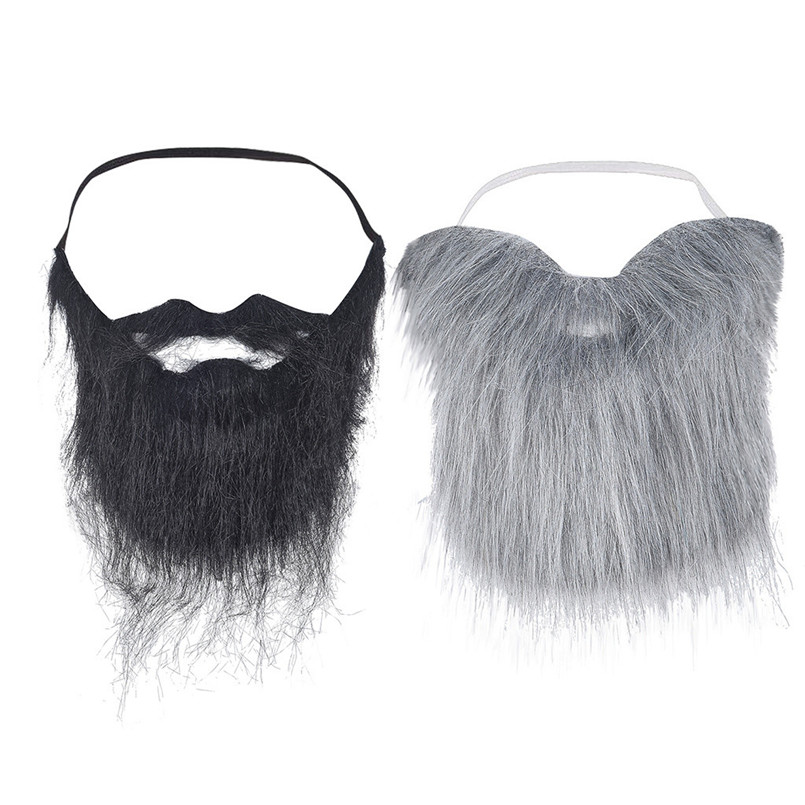 Funny Beard (full Beard) Beard Toys Halloween Party Accessories For Children And Adult Strange Toys 30AG09