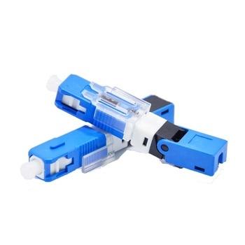 цена на ESC250D SC UPC Single-Mode Fiber Optic Quick Connector FTTH SM Optic Fast Connector
