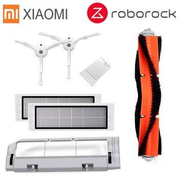 7 teile/los Seite Pinsel Rolle Pinsel HEPA-filter geeignet für Xiaomi Roborock Roboter S50 S51 Staubsauger Ersatzteile Kits