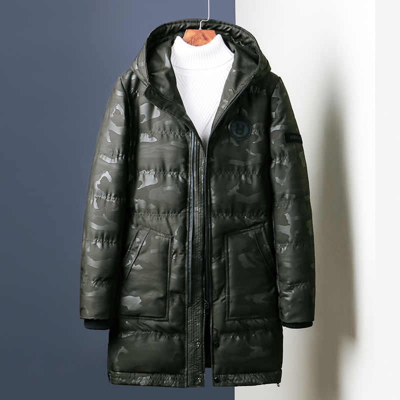Parka Hombre Chaquetas de invierno de algodón Chaquetas Hombre Camo Overcoat Hombre Casual camuflaje hombres Chaquetas y abrigos al por mayor