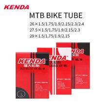 Kenda av fv mtb 26 × 1.95/2.125 27.5 × 1.5/1.75 29 × 2.3/2.4 26 27.5 29 polegadas bicicleta tubo interno