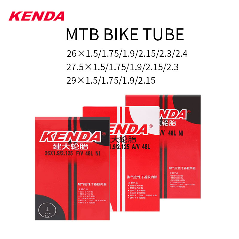 KENDA MTB 26-дюймовая трубка 26 × 1,95/2,125 2,3/2,4 26 велосипедная внутренняя трубка