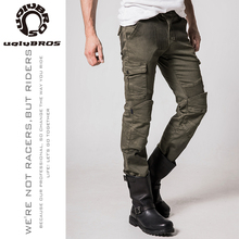 Uglybros Motorcycle Jeans Outdoor Motorbike Riding pants ArmyGreen Men motorcycle Trousers Motocross protective pants Size:28-44