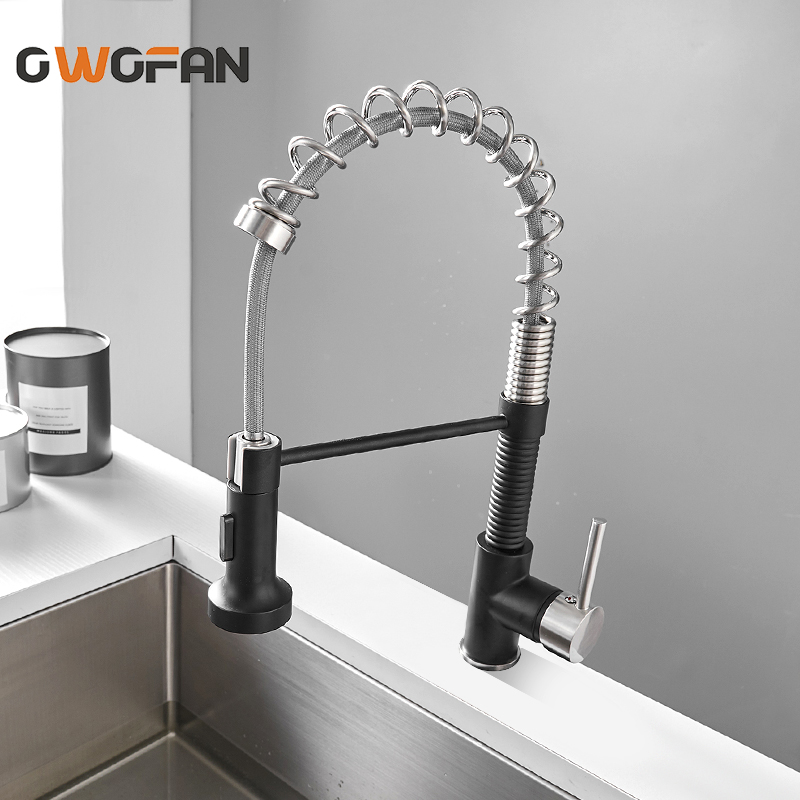 Taps Modern Kitchen Sink Mixer Taps Swivel Spout Single Lever Brass Brushed Faucet Home Furniture Diy Tohoku Morinagamilk Co Jp
