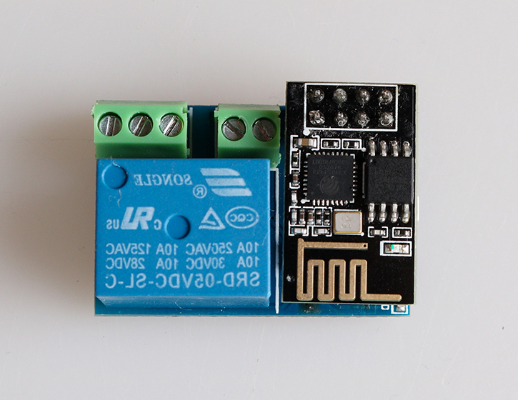 Homekit remote control relay switch