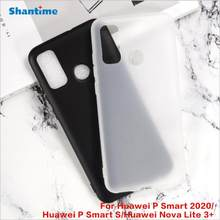 Capa p smart 2020, capa anti-queda de tpu macio para huawei p smart 2020 POT-LX1A 6.21