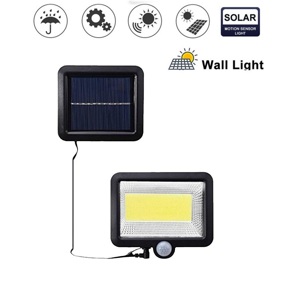 Adjustable Solar Light 56/30 LED PIR Motion Sensor Solar Lamp Three Modes Remote Control Outdoor Garden Street Yard Wall Light S