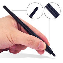 disposable microblading pens permanent makeup tattoo eyebrow tattoo pen With 18U pins needles Embroidery blades 10pcs