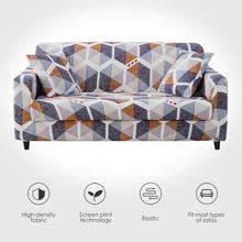 Elastische Sofa Abdeckung für Wohnzimmer Spandex Sessel Abdeckung Magie Gedruckt Blume Couch Abdeckung 1/2/3/4 Sitzer 4 Größe Verfügbar