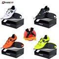 Мужская обувь для велоспорта Darevie Road, дышащая обувь из синтетической кожи, импортная обувь из ТПУ для езды на велосипеде, совместимая с внешн...