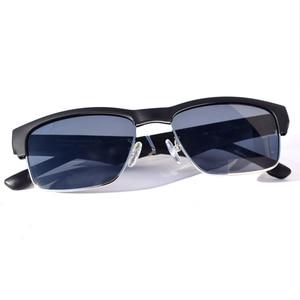 Image 1 - Óculos de sol à prova dágua com bluetooth, óculos inteligente hifi com graves e toque inteligente, mãos livres, música, com microfone