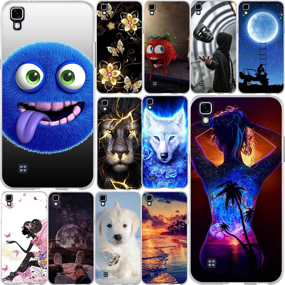 "For LG X Power Case Cover Silicone TPU Case for LG X Power K220ds K220 LS755 Covers Phone bumper for LG X Power 5.3"" Case Coque"