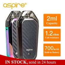 цена на Hot Aspire AVP AIO Kit Vape 2ml Capacity Pod 1.2ohm Nichrome Coil Built-in 700mAh battery Electronic Cigarette Vapeador Vaper