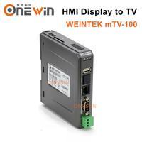WEINTEK mTV 100 HMI Display to TV Built in Ethernet HDMI RS232 RS485