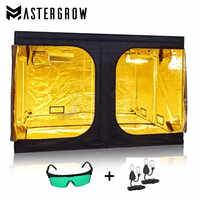 MasterGrow 300X300X200cm Indoor Hydroponics Grow Tent, Grow Room Plant Growing, Reflective Mylar Non Toxic Garden Greenhouses
