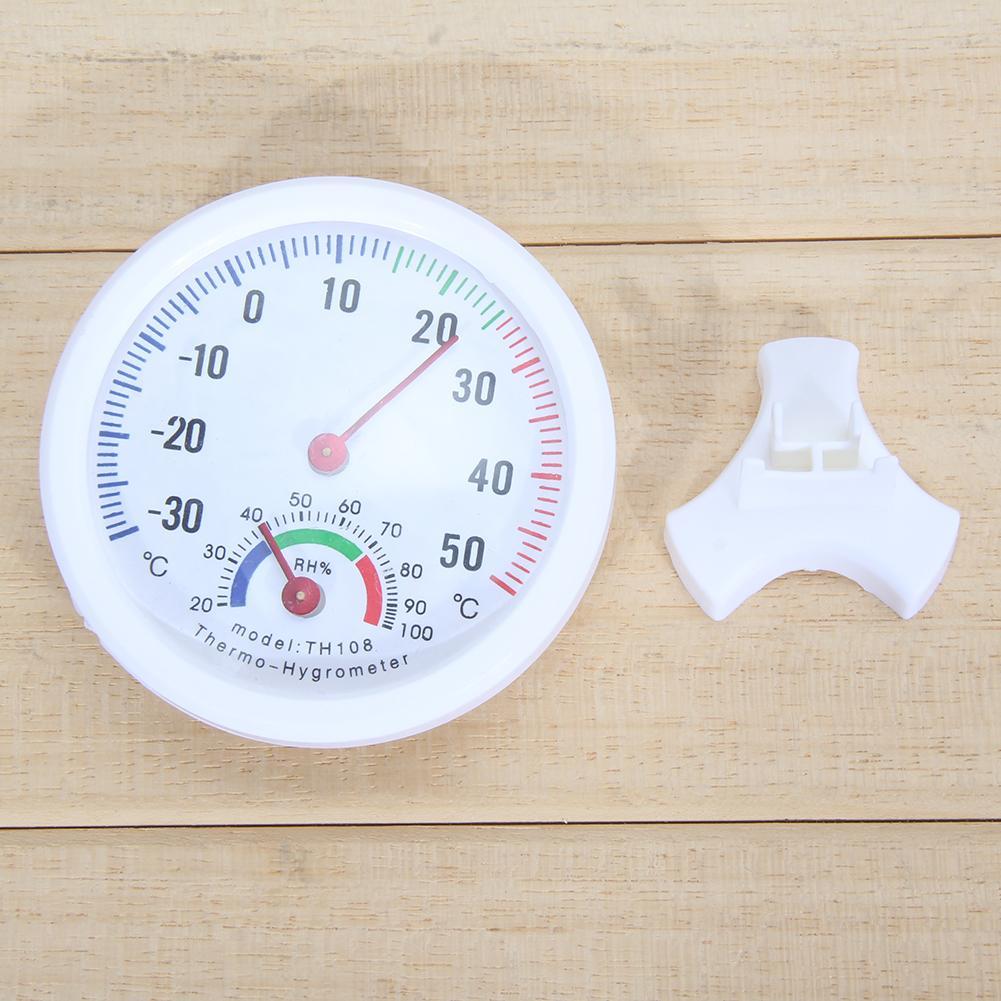 Mini Thermometer Hygrometer Bell-Vormige Lcd Digitale Schaal Voor Thuis Kantoor Muur Promotie Mount Indoor Temperatuur Meet Gereedschap 2