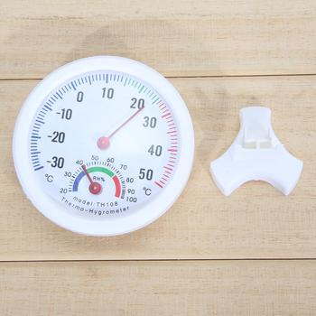 Mini Thermometer Hygrometer Bell-shaped LCD Digital Scale for Home Office Wall Promotion Mount Indoor Temperature Measure Tools 2